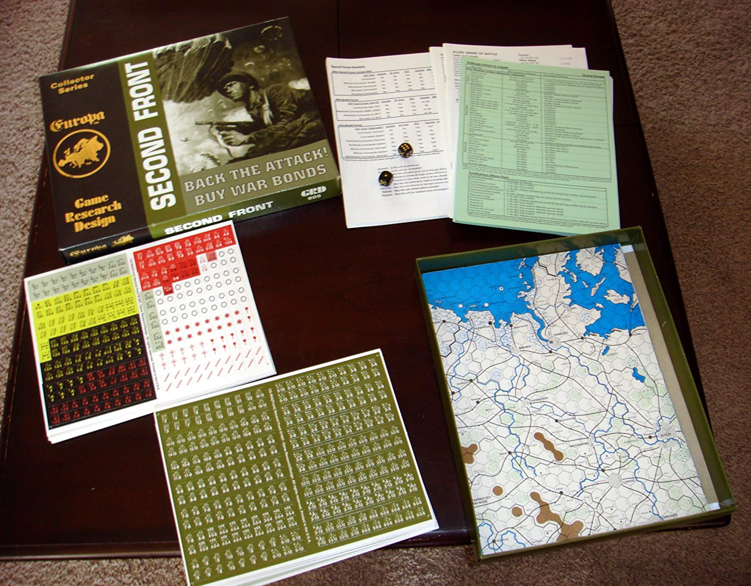 GRD: Second Front Board Game