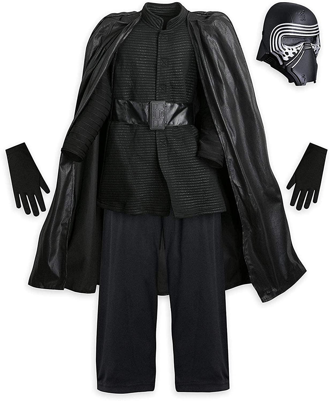 Disney Boys Star Wars The Force Awakens Kylo Ren Costume Size 9/10