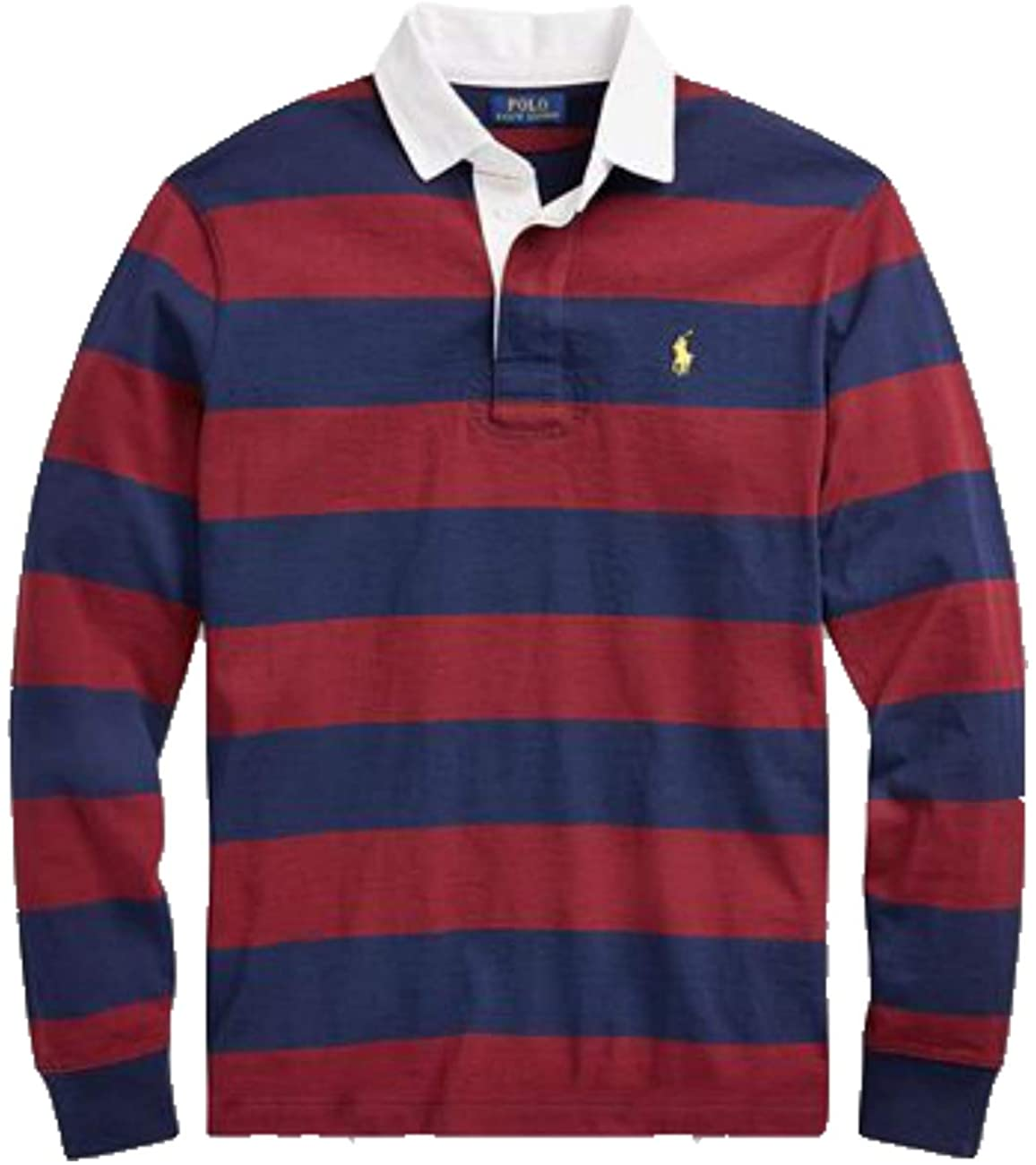Ralph Lauren Polo Mens Big and Tall Long Sleeve Stripe Rugby Shirt