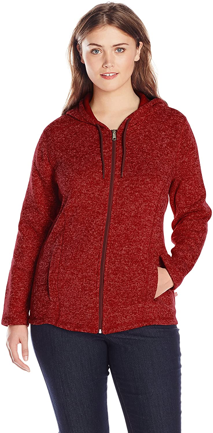 Dickies Women's Size Sweater Hooded Jacket-Plus