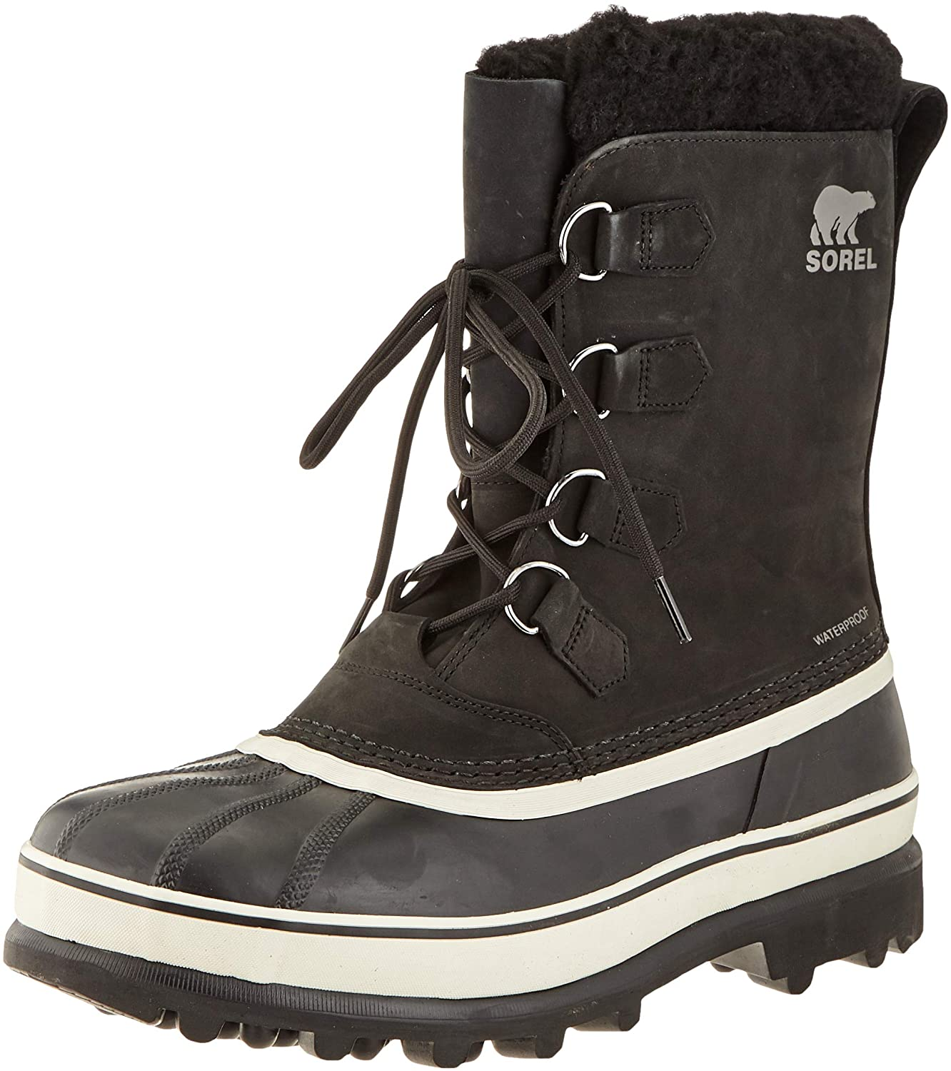 Sorel Mens Snow Winter Boots, Black Dark Stone, 40