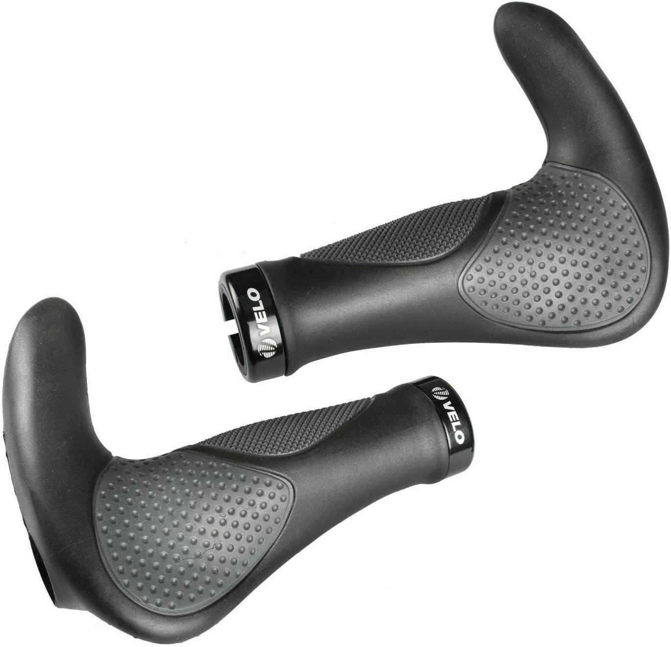 VELO MTB Bike Bicycle Ergonomic Design Grips Handlebar Soft Anti Slip