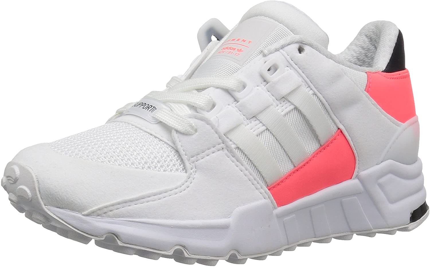 adidas Originals Girls' EQT Support J Running Shoe, White/White/Turbo Fabric, 6 M US Big Kid