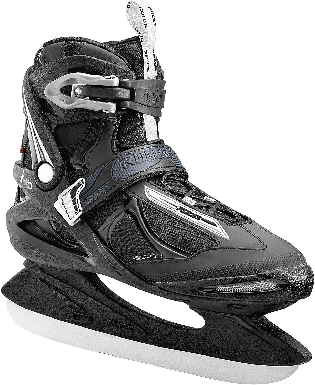 Roces Men Big ICY Ice Skates, Men, Big ICY, Black/White