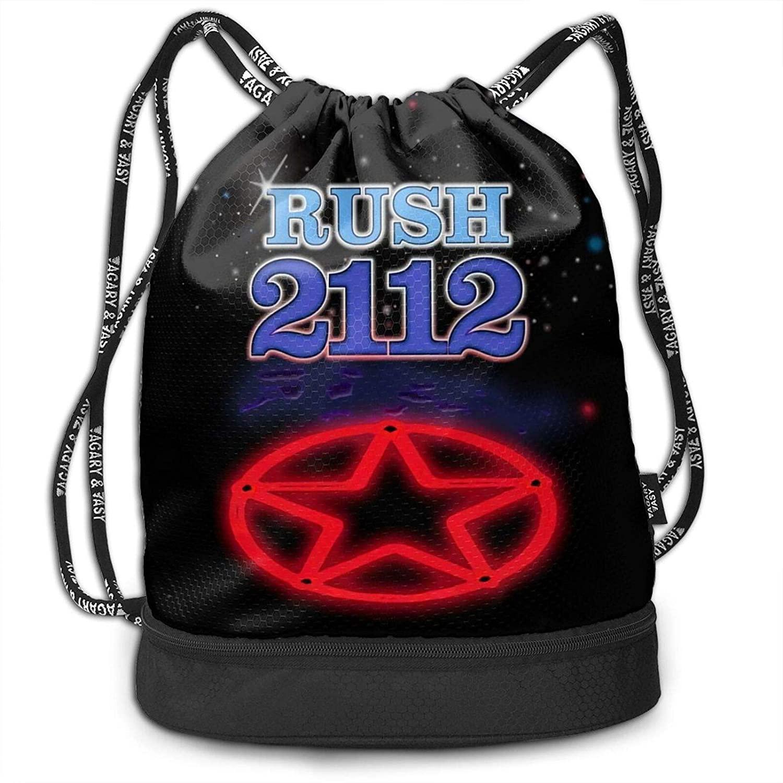 Rush 2112 Fashion Multifunction Bundle Backpack Shoulder Bags Outdoor