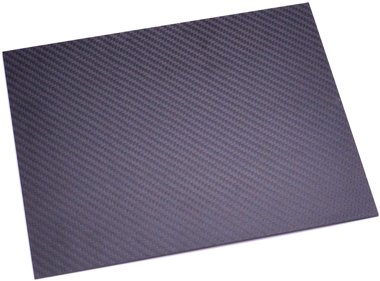 FPVDrone Carbon Fiber Plate Sheets 200x250x1.5mm Carbon Fiber Board Matt for RC Drone Quadcopter