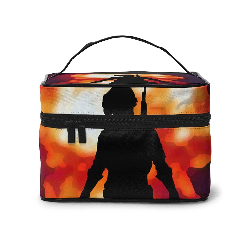 Makeup Bag,Pubg-27 Travel Portable Cosmetic Bag Large Pouch Mesh Brush Organizer Toiletry Bag For Women Girls