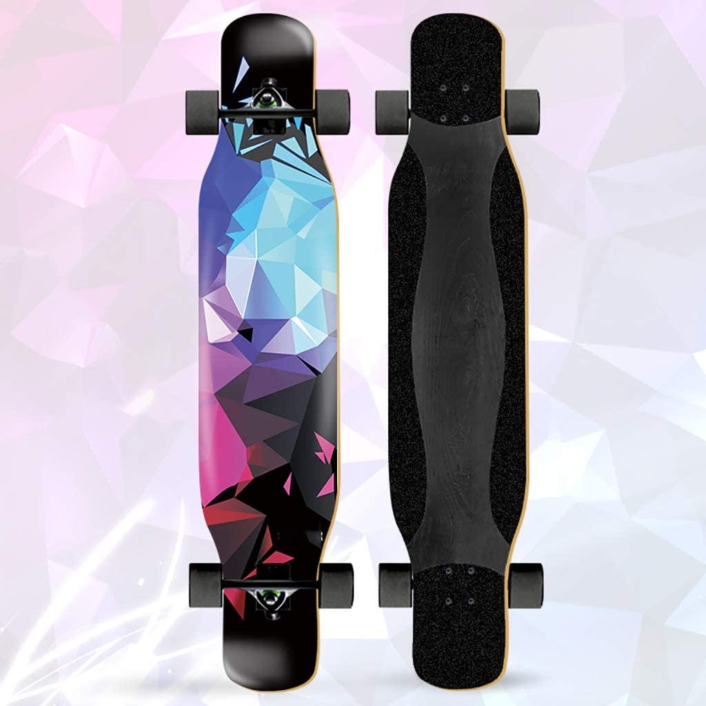 TYXTYX Longboards Skateboard, 45inch Professional Skate Dancing Longboard Road Dance Board Cruising, Dancing, Freestyle