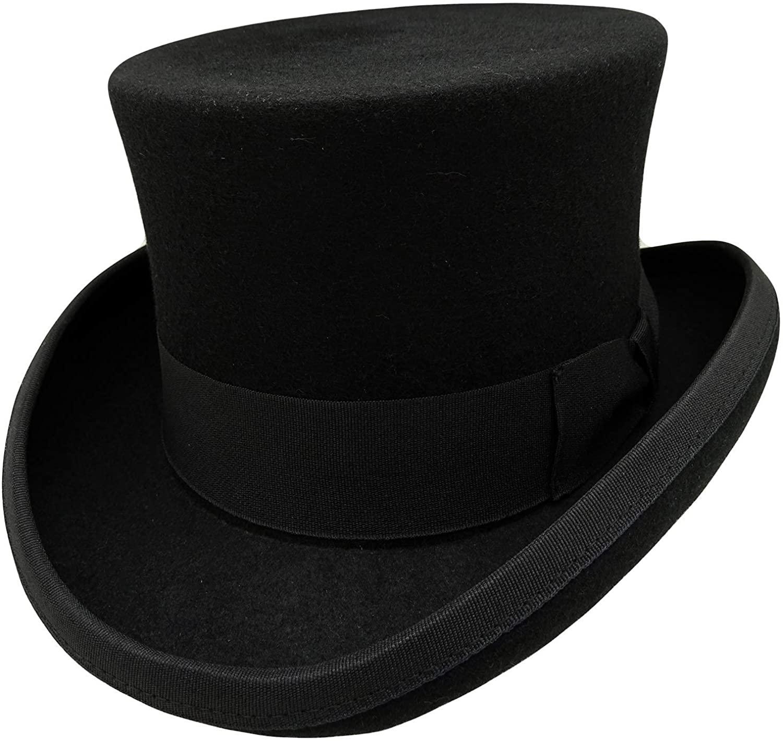 HATsanity Kids Vintage Wool Felt Topper Hat