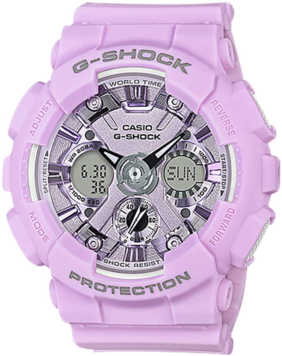 Casio G-Shock Womens GMAS120DP S Series Analog-Digital Watch
