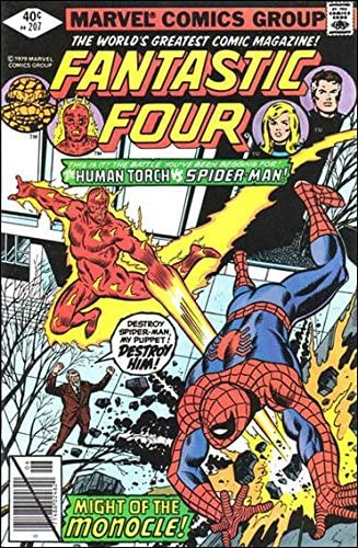 Fantastic Four (Vol. 1) #207 GD ; Marvel comic book