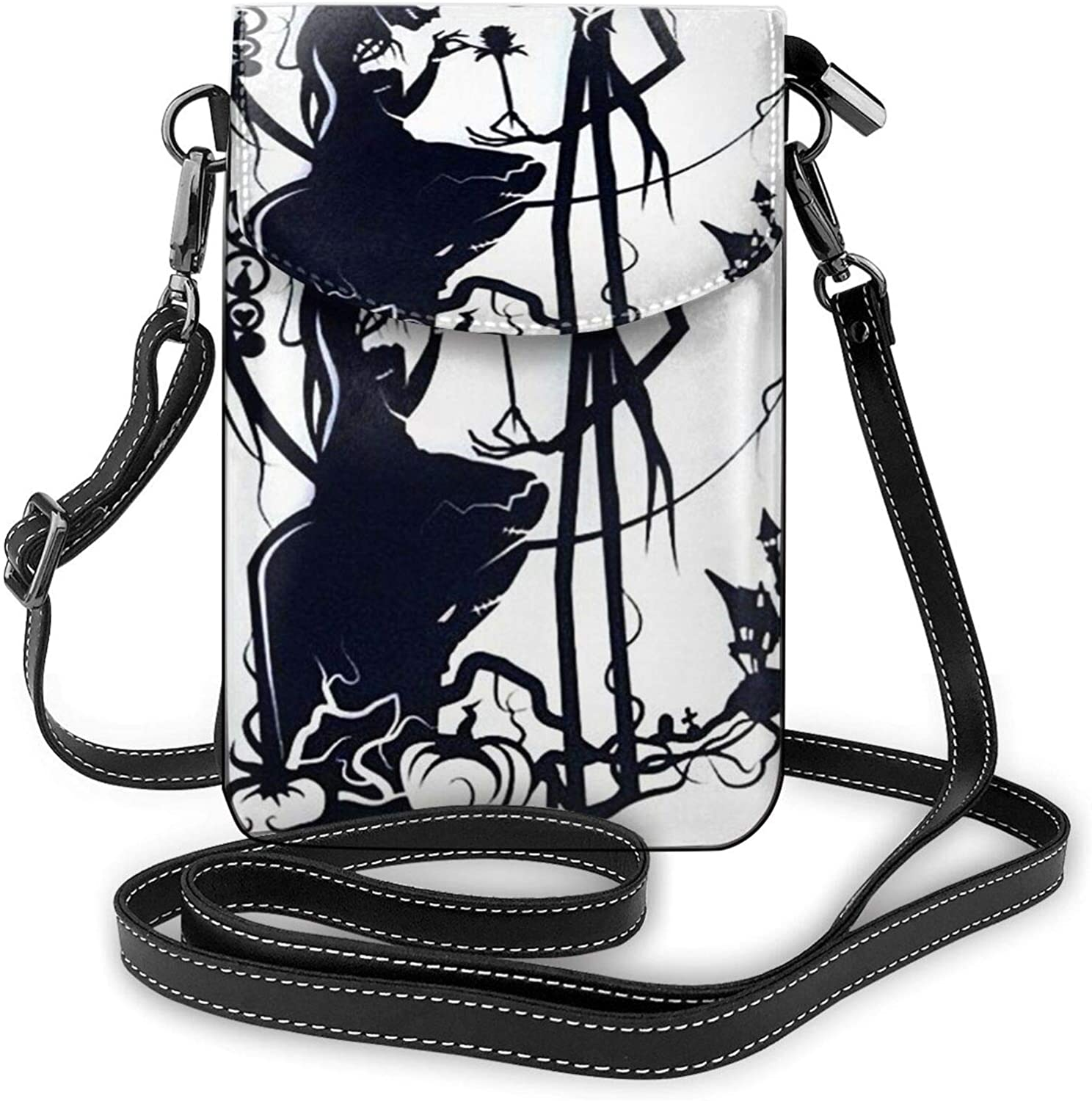 Kuritian Small Crossbody Bags Cell Phone Pursejack And Sally Print With Credit Card Slots