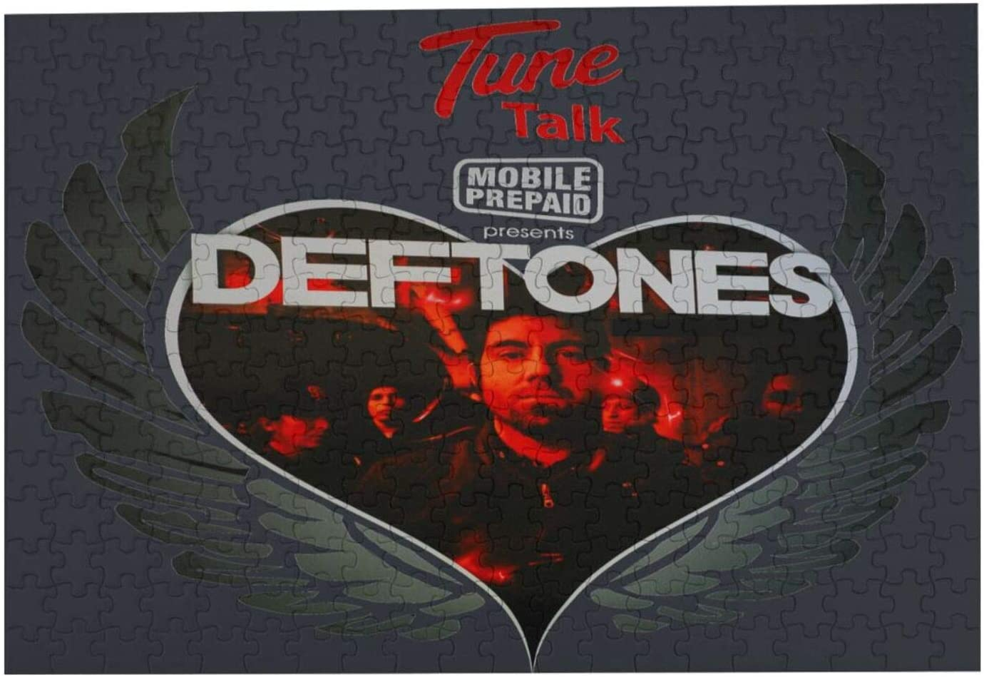 Entuil Deftones 300 Piece Jigsaw Puzzle for Kids Adults Teens DIY Life Educational and Relaxing Yourself