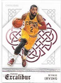 Kyrie Irving 2015-16 Panini Excalibur Cleveland Cavaliers Card #53