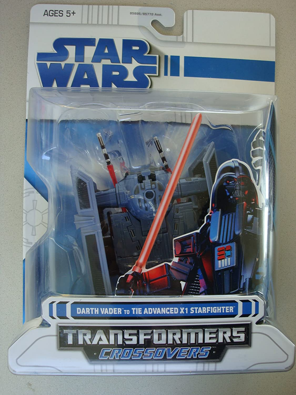 Hasbro Star Wars Transformers - Darth Vader to Tie Advanced x 1 Starfighter