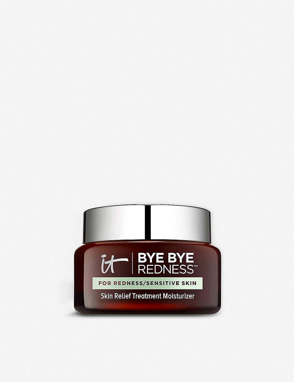 lT Cosmetics Bye Bye Redness Skin Relief Treatment Moisturizer Full size 2oz 60ml