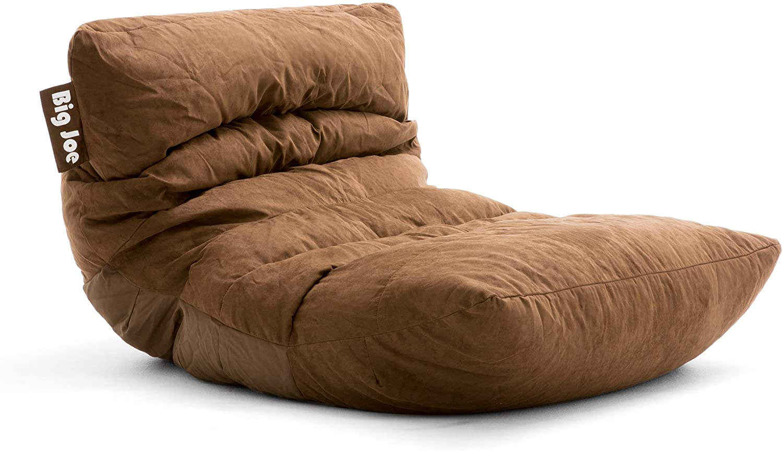 Big Joe Roma Bean Bag Chair, Chocolate