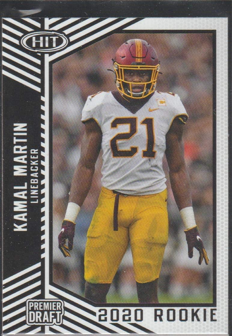 2020 SAGE HIT Premier Draft Football #5 Kamal Martin Minnesota Golden Gophers Pre NFL Rookie Card