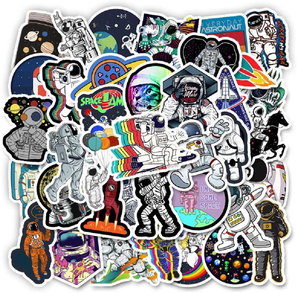 Cute Vsco Stickers for Water Bottles 50 Pcs Trendy Cool Stickers for Teens Waterproof Vinyl Stickers(Series 1)