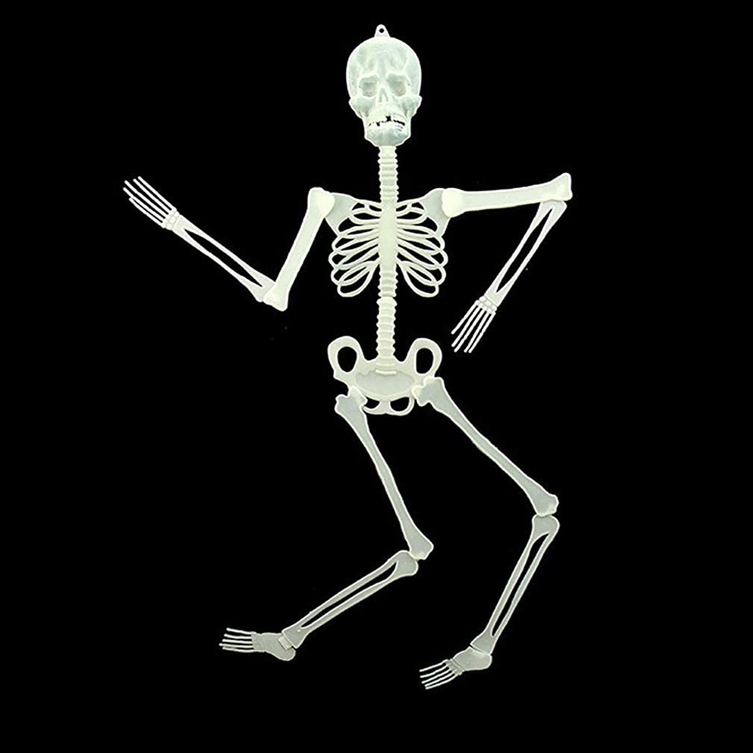 Oleoly Halloween Skull Frame Decoration, 36' Flat Skull Frame, Non-Medical Human Skeleton Structure, Add Halloween Atmosphere to Families and Parties (2, 36)