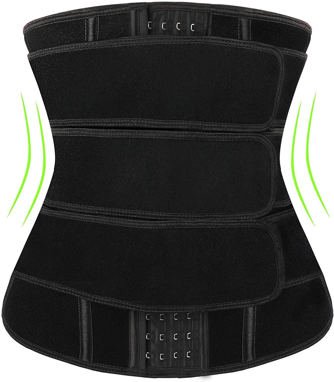 Waist Trainer for Women, Corset Cincher Body Shaper Weight Loss Sweat Trimmer Belt Neoprene Waist Trainer Hourglass Body Shaper