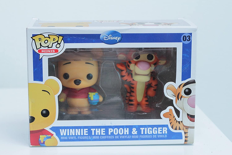 Funko Mini Pop Figures - Pooh and Tigger