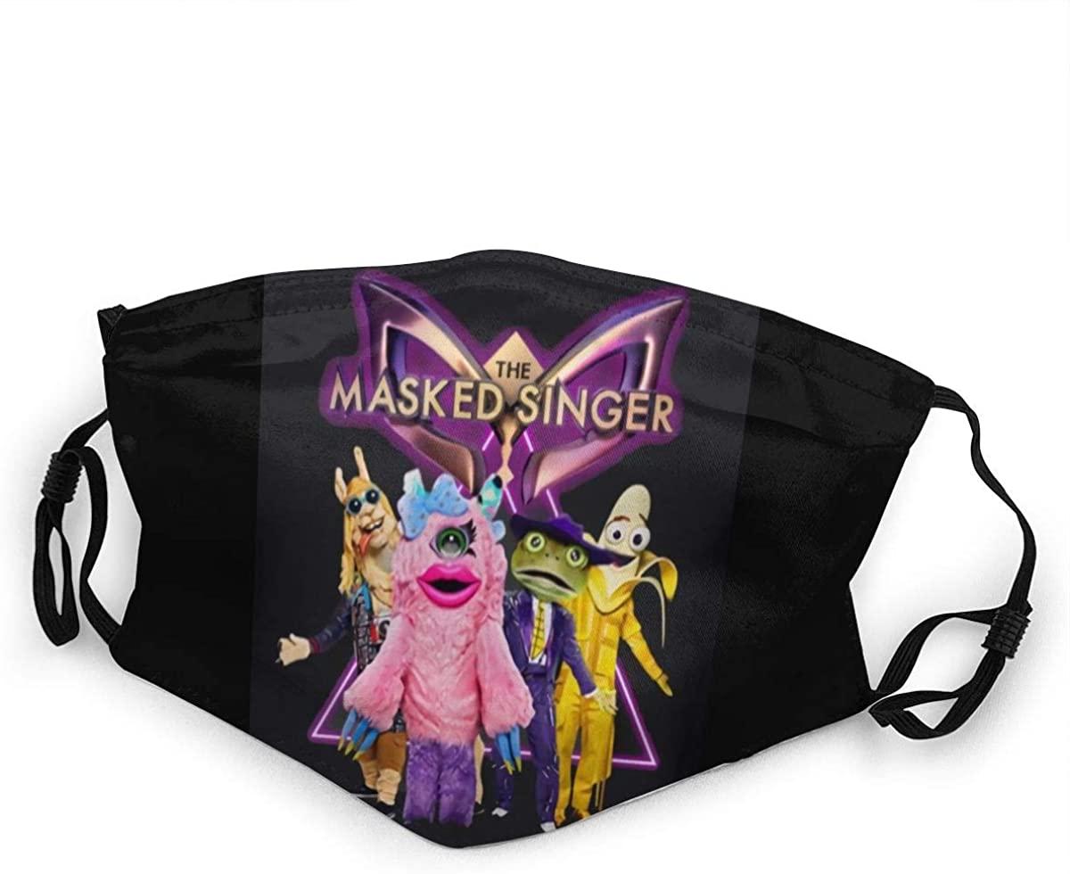 Masked Singer Juvenile Dust Reusable Half Face Cover Balaclava Bandanas for Outdoor One Piece