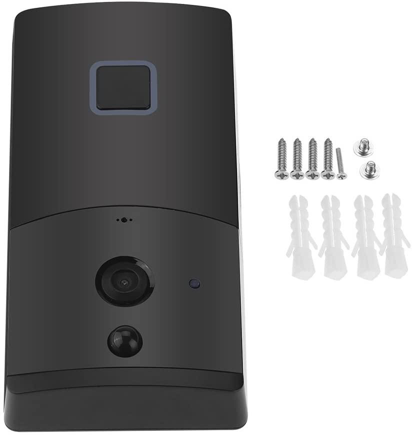 DeWin WiFi Doorbell Wireless WiFi Doorbell, Video Camera Phone Ring, with Intercom Night Vision, Home Build Security