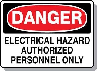 Beaed - DANGER Electrical Hazard