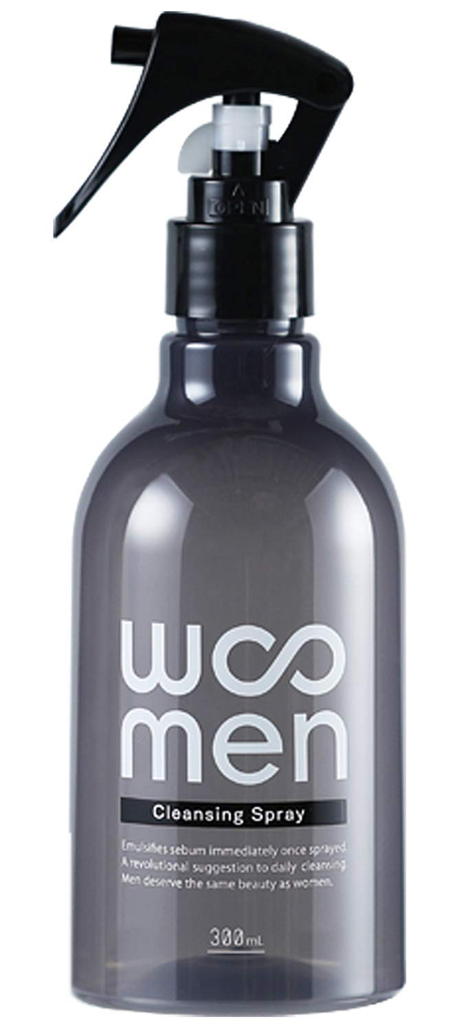 WOOMEN Cleansing Spray 300mL   Non-foaming face wash   Unclog pores, remove dirt and excessive sebum   Fragrance-Free   Alcohol-Free   Paraben-Free   Japan Import