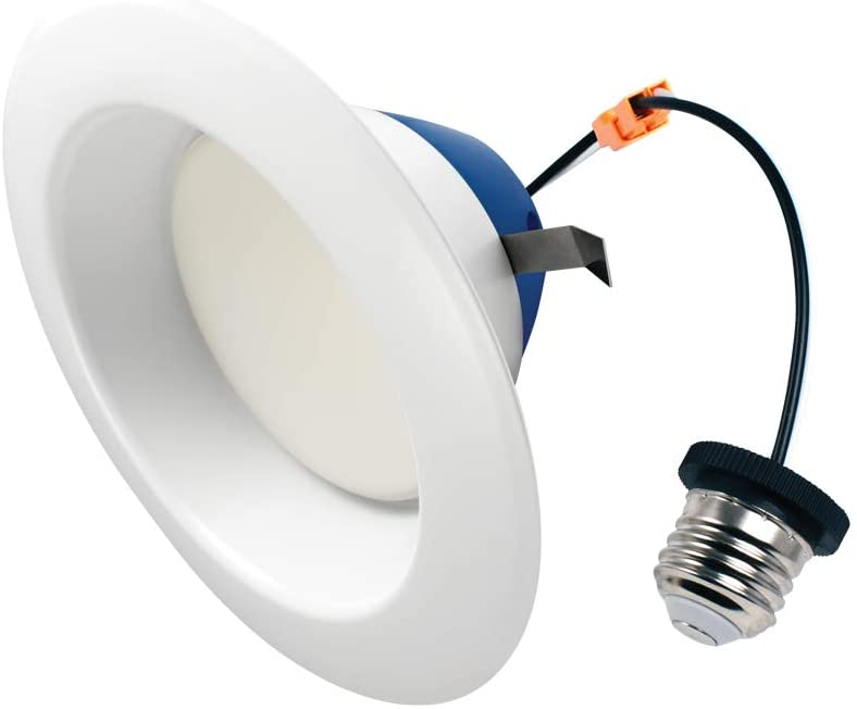 Cree Lighting TRDL6-1604000FH50-12DE26-1-11 26-1-11 6 inch LED Retrofit Downlight 75W Equivalent (Dimmable) 1600 lumens Cool White 4000K 1 Pack, 150W