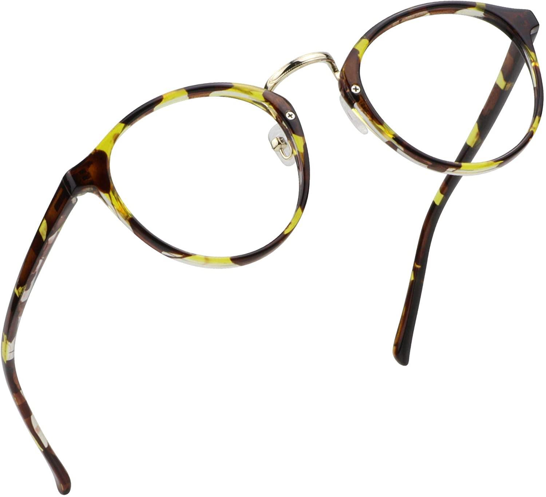 LifeArt Blue Light Blocking Glasses, Anti Eyestrain, Computer Reading Glasses, Gaming Glasses, TV Glasses for Women Men, Anti Glare (Tortoise, 2.00 Magnification)