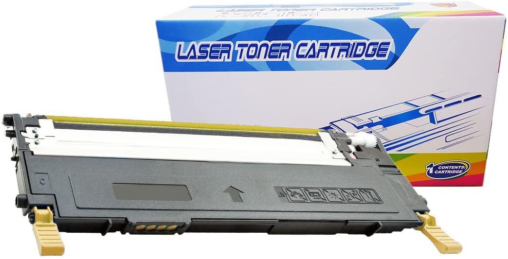 Inktoneram Compatible Toner Cartridge Replacement for Dell 1230 1230c 1235 330-3013 330-3579 (Yellow)