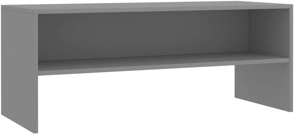 Unfade Memory TV Cabinet TV Stand Entertainment Center Living Room Storage Shelves (39.4