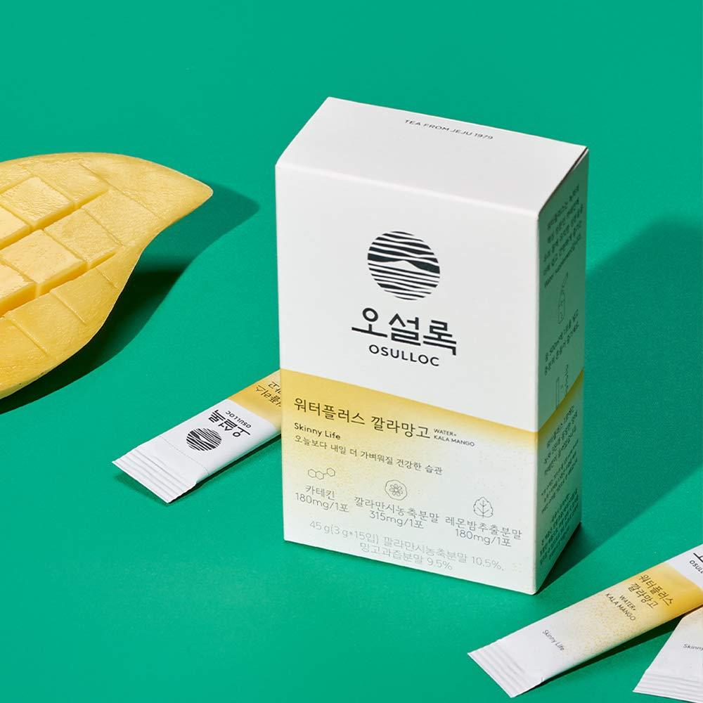 OSULLOC WaterPlus Iced Tea (CcalaMango)