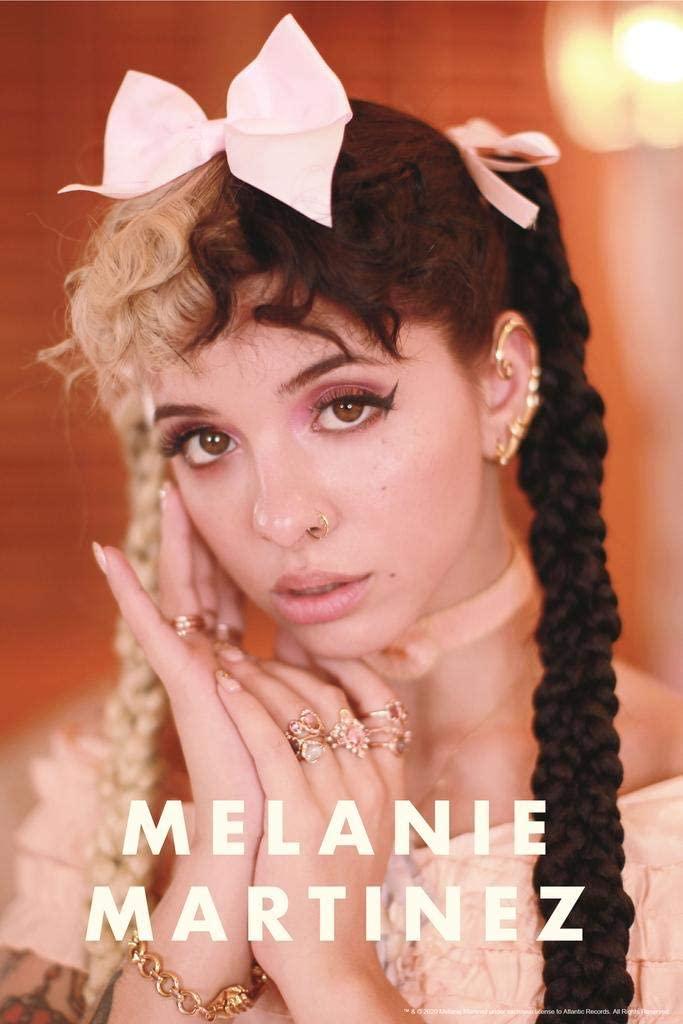 Melanie Martinez Pink Bow Crybaby Detention K12 Album Music Merch Laminated Dry Erase Sign Poster 24x36