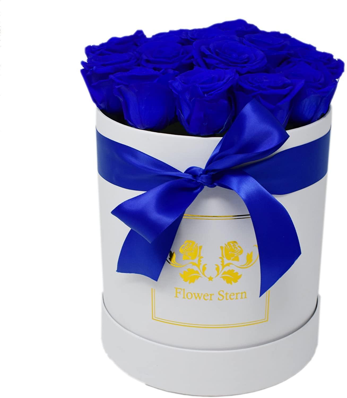 Luxury Eternal Flowers: Stern Blanc N°21 (Royal Blue)