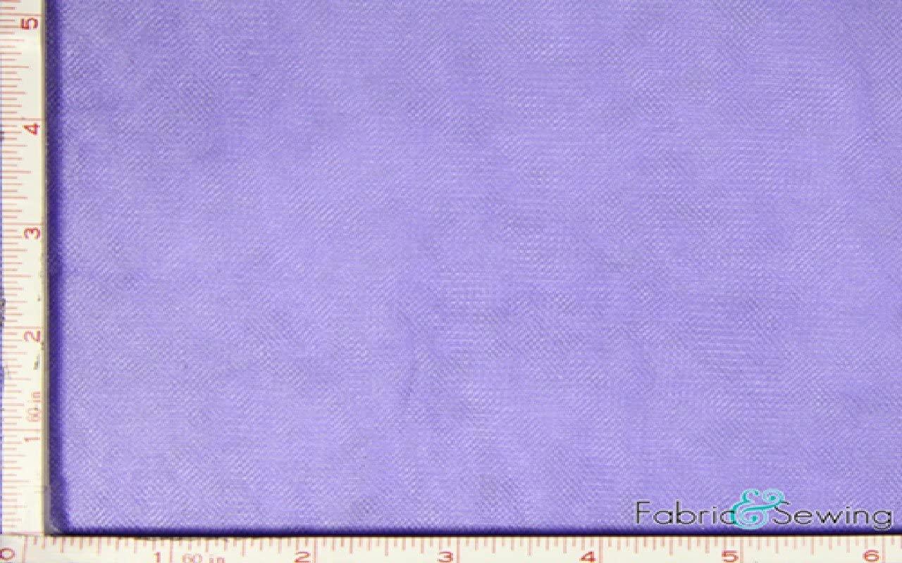 Purple Tulle Illusion Knit Fabric Nylon 108