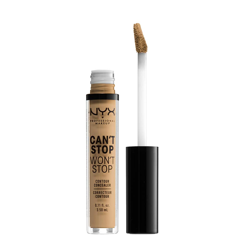 NYX PROFESSIONAL MAKEUP Can't Stop Won't Stop Contour Concealer - Beige, Medium With Warm Undertone