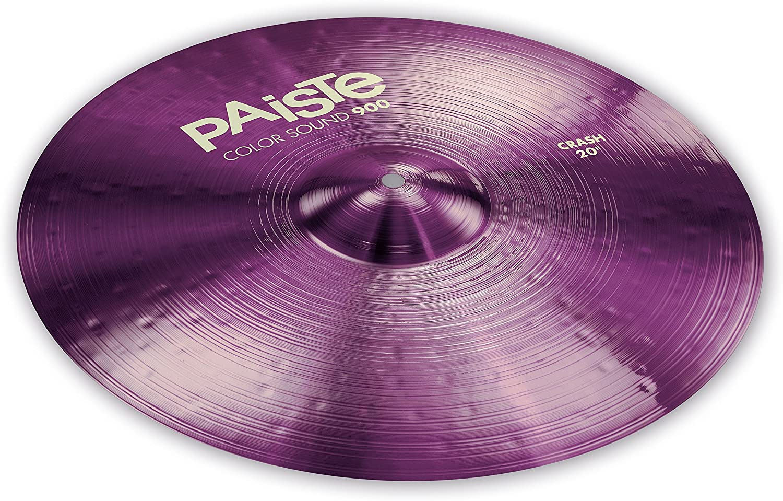 Paiste Colorsound 900 Crash Cymbal Purple 20 in.