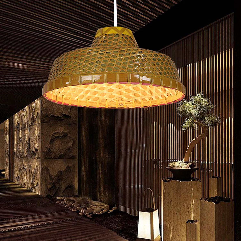 Gdrasuya10 Bamboo Lantern Pendant Lamp, Bamboo Wicker Rattan Hat Shade Pendant Light Fixture 7.09 Inches Adjustable for Kitchen Bedroom Living Room Restaurant Hotel Fixture