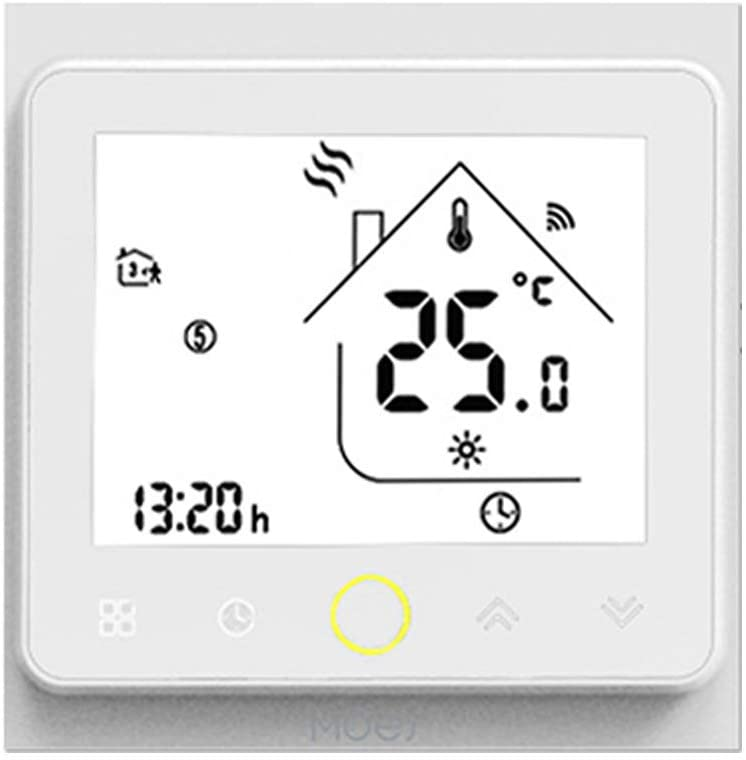 Programmable Thermostat,KKmoon Intelligent Thermostat Programmable Temperature Controller Hub Required Smart Life Tuya APP Remote Control Compatible