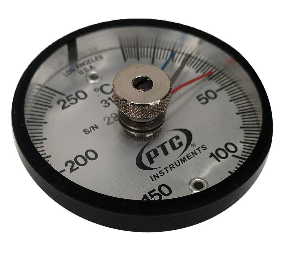 PTC 313CMM Magnetic Surface Thermometer Max-Min Hands -20° to 250°C.