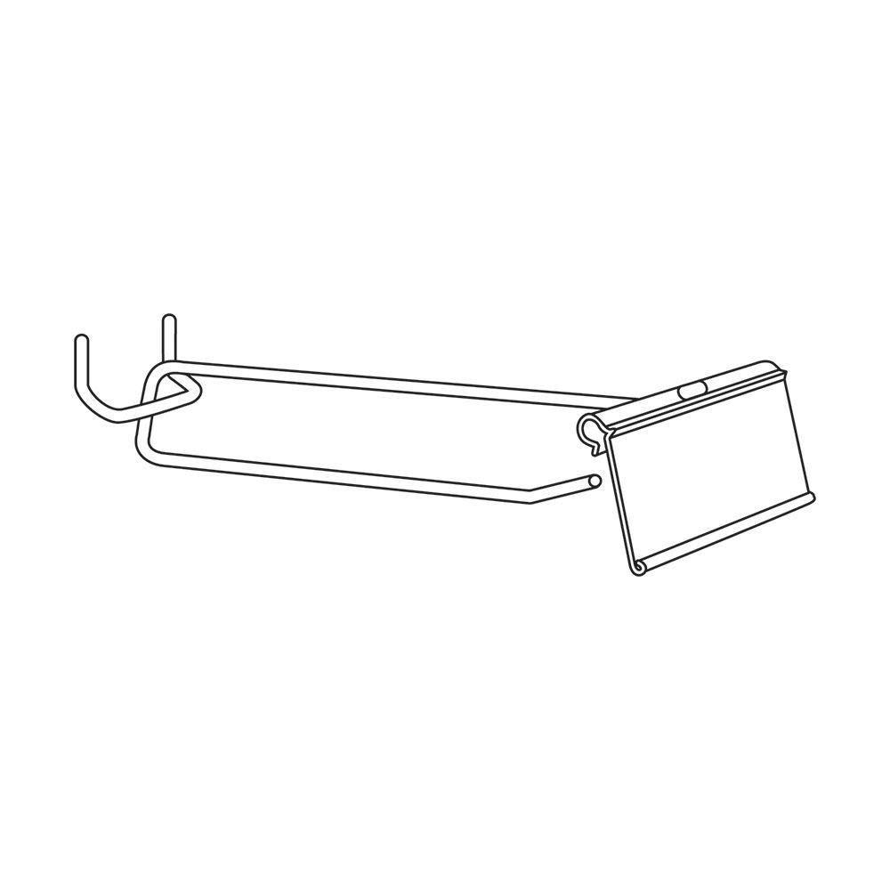 Flip Scan Hooks 4 Inch (L) Bag of 25