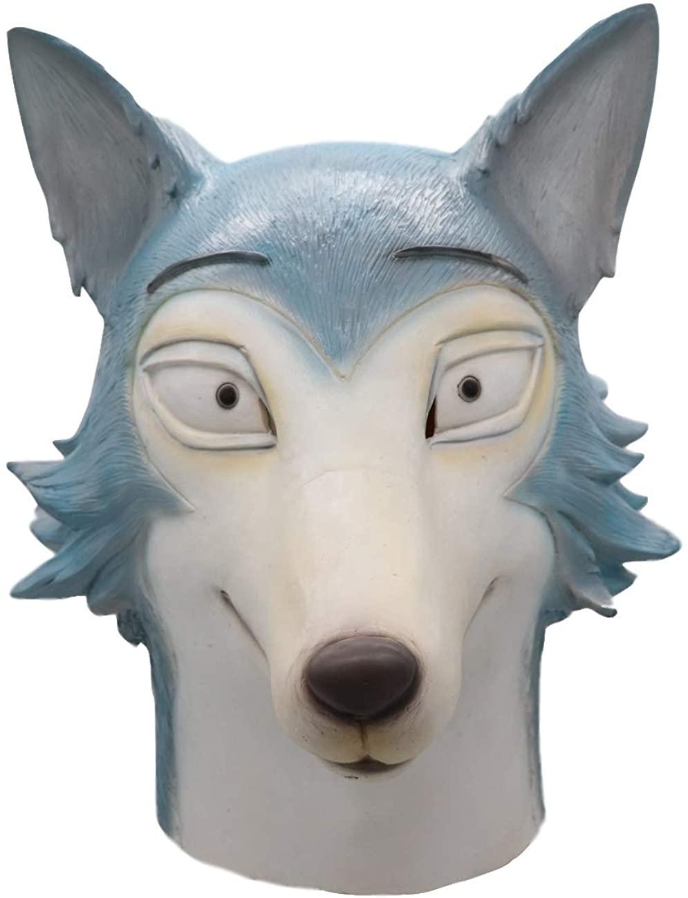 Cafele Beastars Legosi Mask Wolf Animal Cosplay Costume (Legosi)