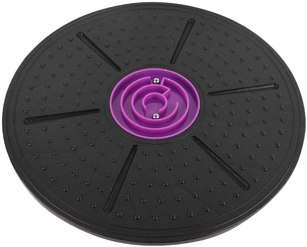 Parluna Durable Balance Board, Comfortable Balance Board Physical Therapy, 360° Rotation for Office Yoga Home Fitness