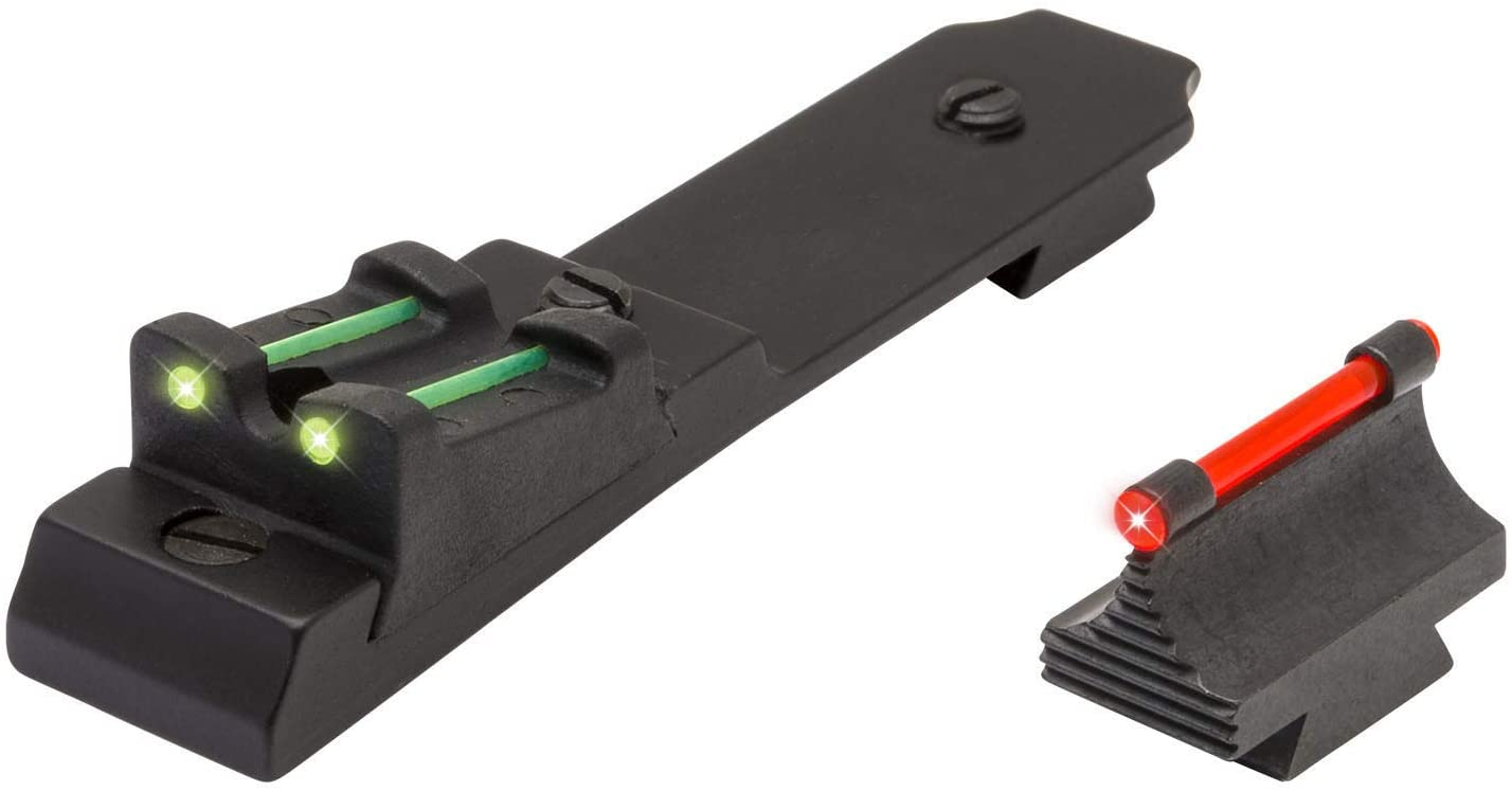 TRUGLO Fiber Optic Rifle Sight Set - Winchester 94 Red/Green