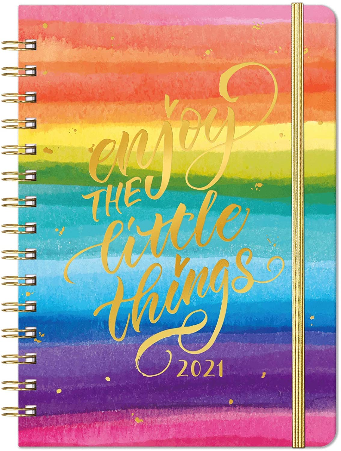 2021 Planner - Weekly & Monthly Planner with Monthly Tabs, Jan 2021 - Dec 2021, 6.4