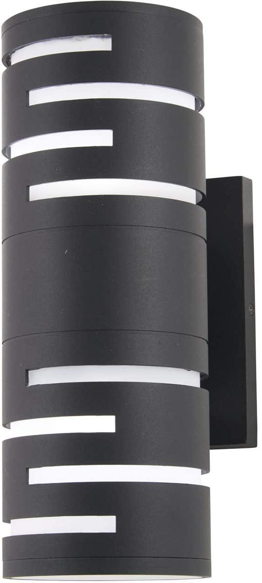 George Kovacs P1762-066-L Groovin LED Wall Sconce, 6 Watt LED, Black