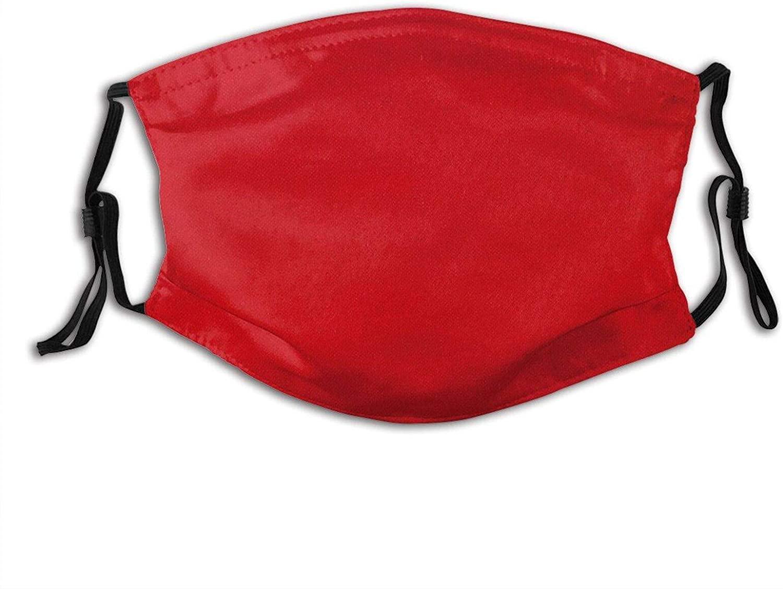 Red Face Mask Reusable Washable Cloth Face Bandanas Balaclava For Men Women